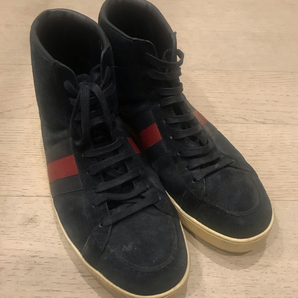 Gucci Shoes | 60 Ankle Sneaker | Poshmark